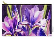 Purple Iris Dance  Carry-all Pouch