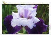 Purple Iris Flower Art Prints Garden Floral Baslee Troutman Carry-all Pouch