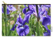 Purple Irises Carry-all Pouch