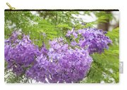 Purple Jacaranda Flowers Close-up  Carry-all Pouch