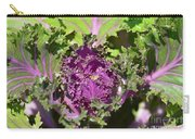 Purple Kale Carry-all Pouch