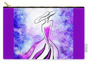 Purple Lady Charm Carry-all Pouch