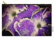 Purple Land  Anemone Carry-all Pouch