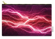 Purple Lightning Carry-all Pouch