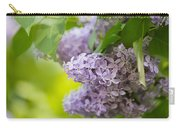 Purple Lilac Carry-all Pouch