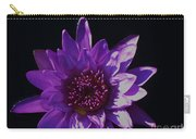 Purple Lily Monet Carry-all Pouch