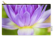 Purple Lotus Blossom Carry-all Pouch