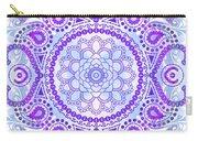 Purple Lotus Mandala Carry-all Pouch