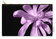 Purple Magnolia Carry-all Pouch