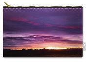 Purple Majesty Sunset Carry-all Pouch