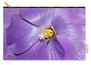 Purple Mallow Mist Carry-all Pouch