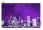 Purple Manhattan Carry-all Pouch