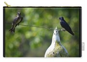 Purple Martins II Carry-all Pouch