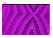 Purple Maze Carry-all Pouch