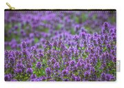 Purple Meadow 3 Carry-all Pouch