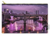 Purple Minneapolis For Prince Carry-all Pouch