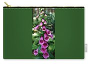 Purple Mouth Flowers Carry-all Pouch