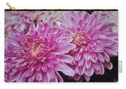 Purple Mums Carry-all Pouch