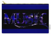 Purple Music. Carry-all Pouch