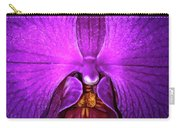 Purple Orchid Carry-all Pouch
