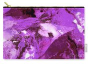 Purple Passion Abstract Carry-all Pouch