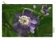 Purple Passion Flower Carry-all Pouch