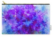 Purple Passion Hydrangea  Carry-all Pouch