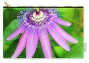 Purple Passion Vine Carry-all Pouch