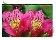 Purple Peruvian Lily Carry-all Pouch