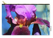 Purple Petals Four  Carry-all Pouch