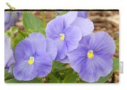 Purple Petunia  Carry-all Pouch