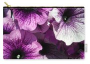 Purple Petunia Paradise Carry-all Pouch