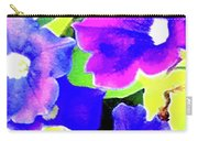 Purple Petunias 1 Carry-all Pouch