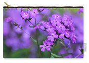 Purple Phlox Carry-all Pouch