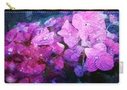 Purple Pink Painterliness Carry-all Pouch
