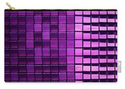 Purple Pixels Carry-all Pouch