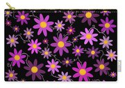 Purple Polka Carry-all Pouch