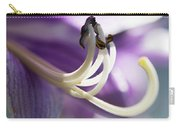 Purple Pollenate Carry-all Pouch