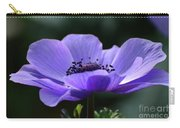 Purple Poppy Mona Lisa Carry-all Pouch