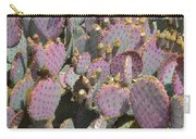 Purple Prickly Pear 3 Carry-all Pouch