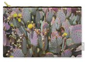Purple Prickly Pear 1 Carry-all Pouch