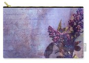 Purple Prose Carry-all Pouch