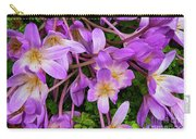 Purple Rain Lilies Carry-all Pouch