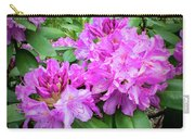 Purple Rhododendron Carry-all Pouch