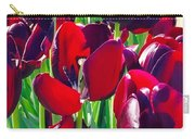 Purple Royals Tulips Carry-all Pouch