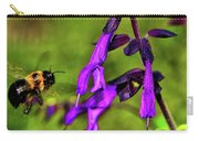 Purple Salvia 002 Carry-all Pouch