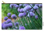 Purple Scallions Carry-all Pouch