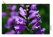 Purple Skullcap Bloom Carry-all Pouch