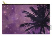 Purple Sky Palm Carry-all Pouch