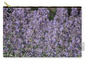 Purple Spikes Flora Impression 6.8.17  Carry-all Pouch